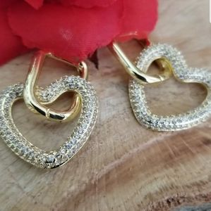 Gorgeous retro style heart, star other style 18k